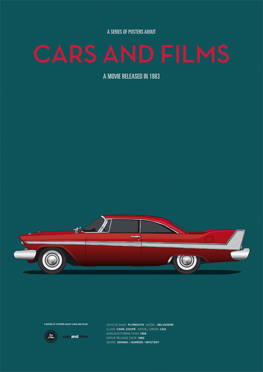 Copyright Cars and Films http://www.carsandfilms.com/christine.html