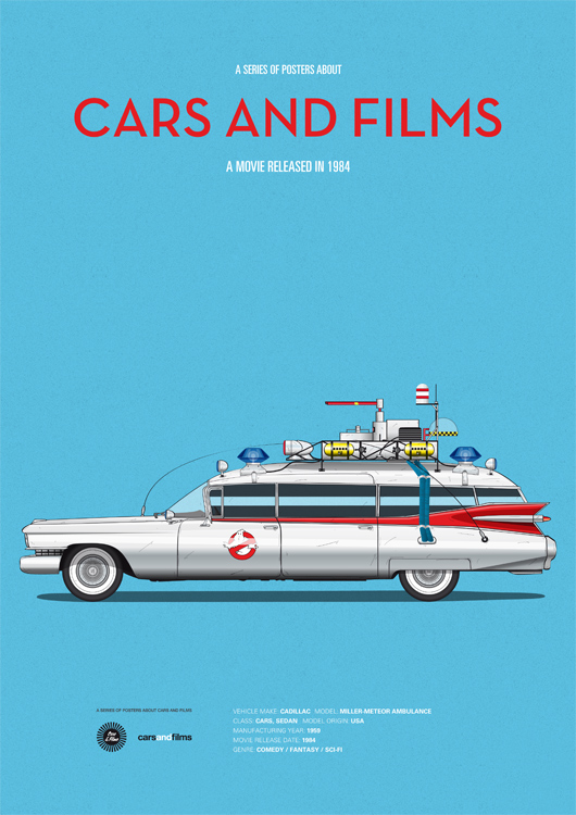 Copyright Cars and Films http://www.carsandfilms.com/ghostbusters.html