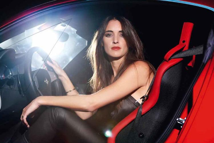 Margot Laffite Ambassadrice De Renault Sporten Voiture