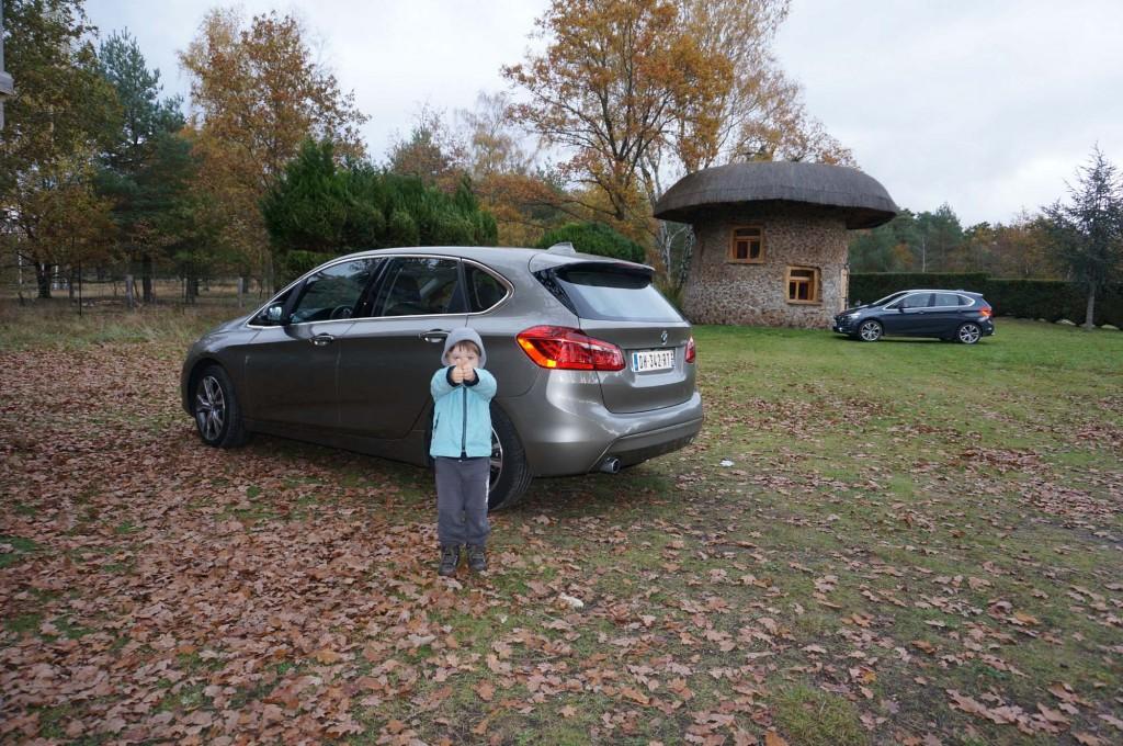 Heureux comme un enfant en BMW