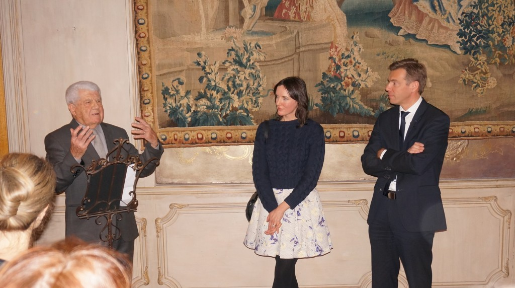 Jean Bousquet, Lucy King et Pascal Ruche