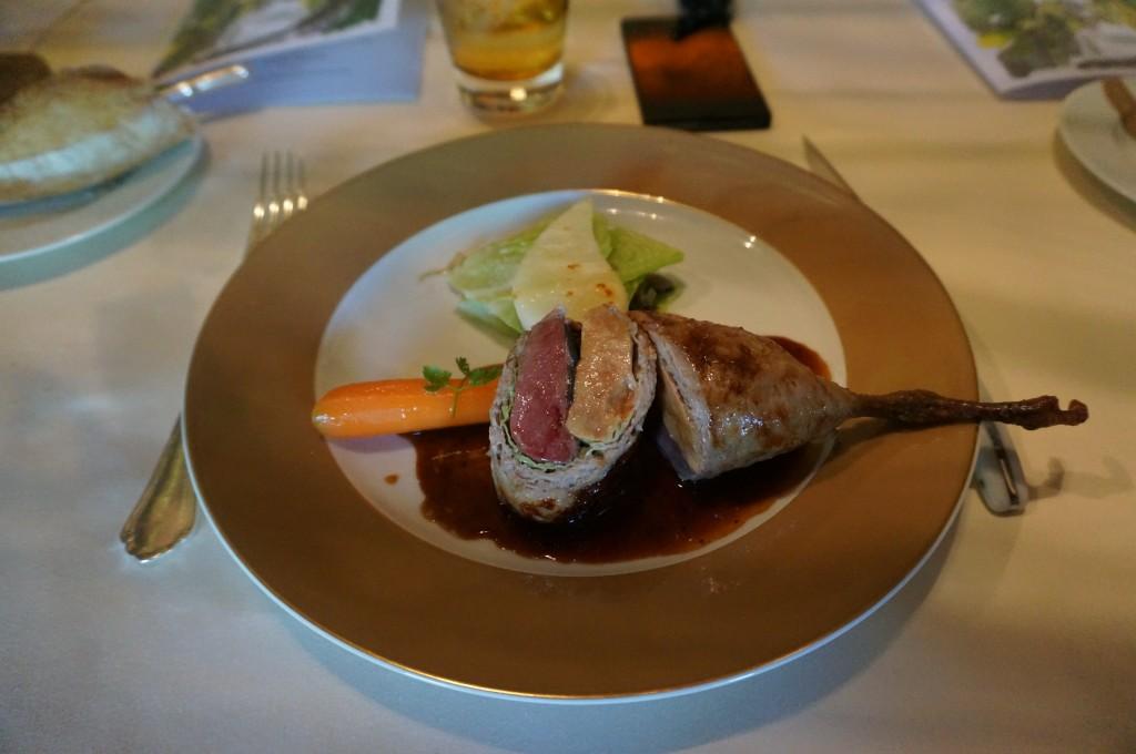 la volaille au foie gras