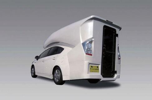 la toyota prius camping caren voiture carine en voiture carine. Black Bedroom Furniture Sets. Home Design Ideas