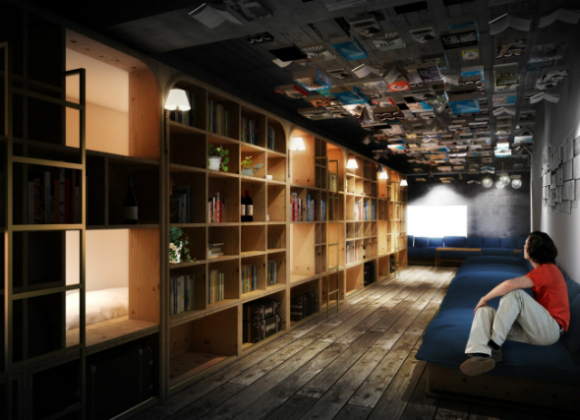 book-and-bed-hotel-japan