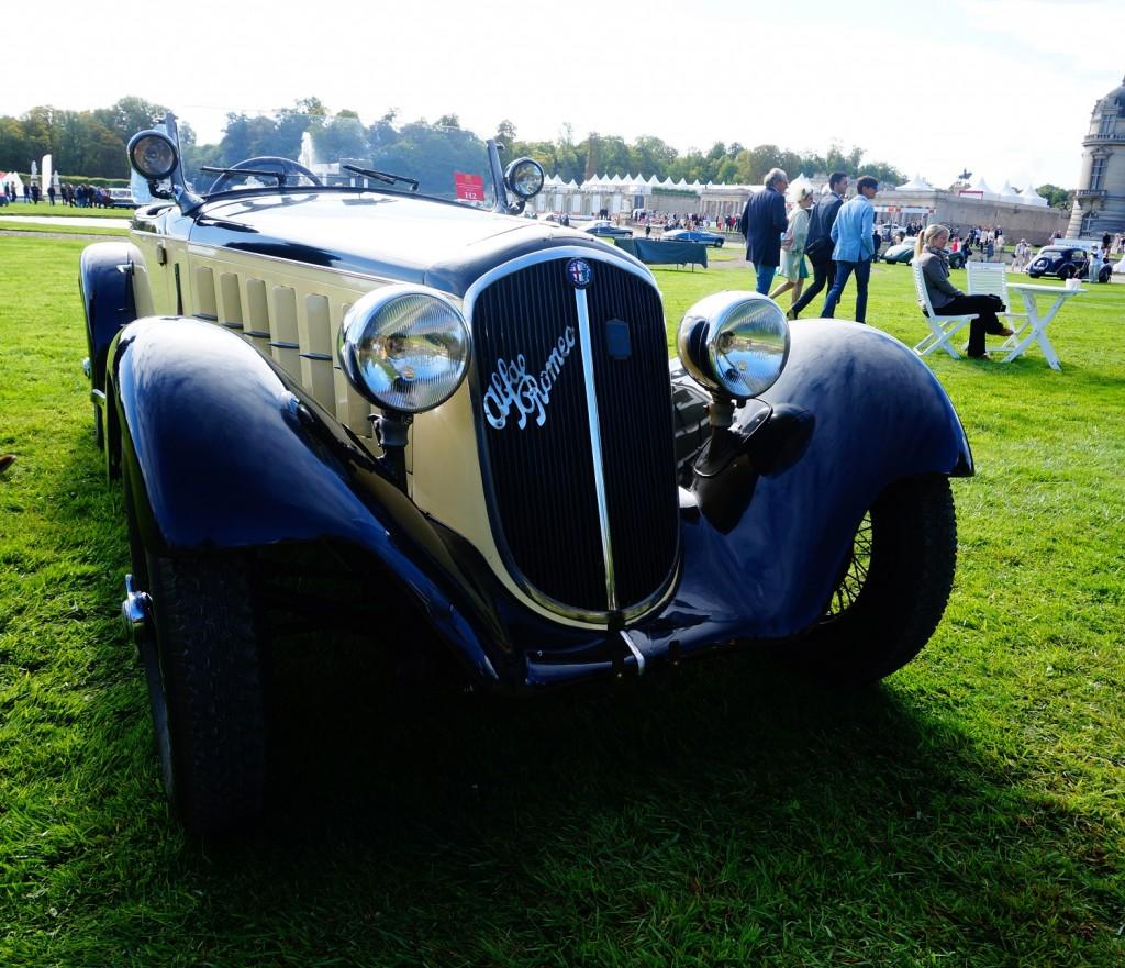 Alfa Romeo 6C 1750 GS Touring Spider 1931 - Henry Ford lui même levait son chapeau devant les Alfa Romeo des années 30 ;)