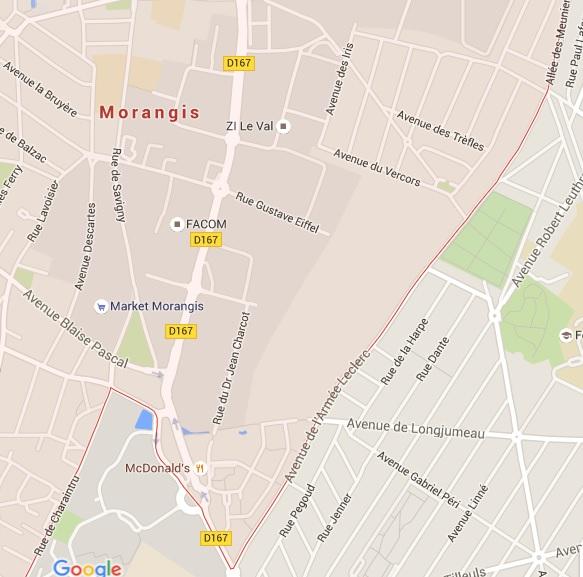 morangis-savigny-sur-orge-routes