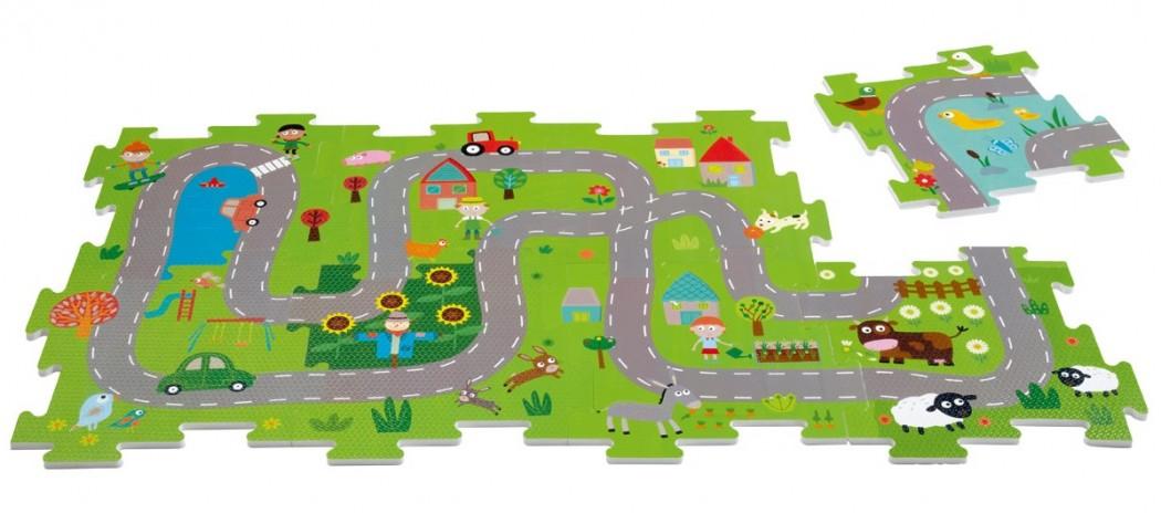 Concours Un Tapis De Route Puzzle Oxybul Le Grand Livre Jeu Du