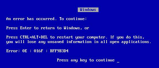 Windows-Blue-Screen-Crash