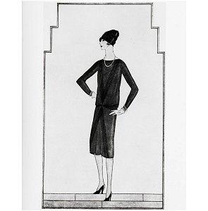 Le dessin paru dans un numéro de Vogue de 1926 aux USA