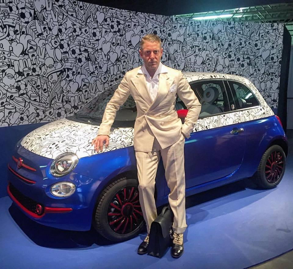Lapo elkann fiat 500 pepsi milan design week 2016 2 en for Garage jaguar montpellier