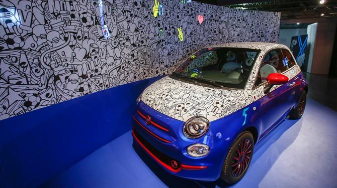 Lapo elkann fiat 500 pepsi milan design week 2016 4 en for Garage jaguar montpellier